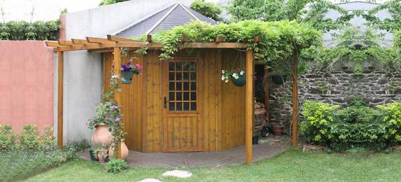 abri jardin bois angle dj cr ation. Black Bedroom Furniture Sets. Home Design Ideas
