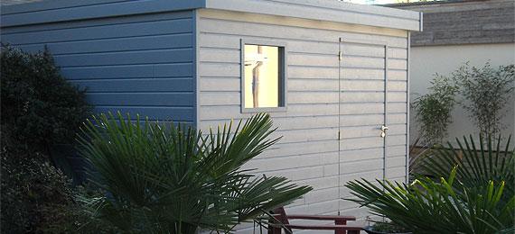 abri jardin en bois sur mesure dj cr ation. Black Bedroom Furniture Sets. Home Design Ideas