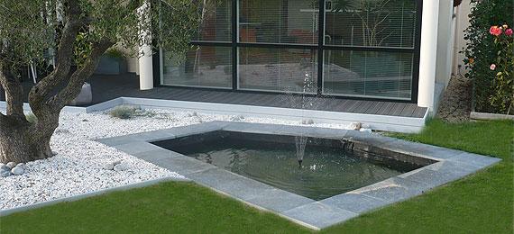 bassin de jardin dj cr ation. Black Bedroom Furniture Sets. Home Design Ideas