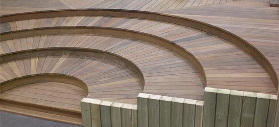 Terrasse en bois pour votre extérieur  DJ création[R