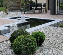bassin en bordure de terrasse
