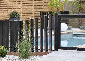 palissage et portillon piscine