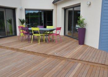 Terrasses en bois sur mesure