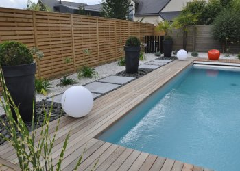 Cr ation d coration et jardin dj cr ation for Agencement piscine