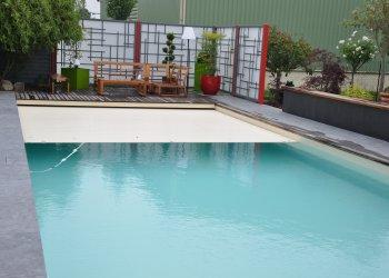 Aménagement de contour de piscine extérieur   DJ Création