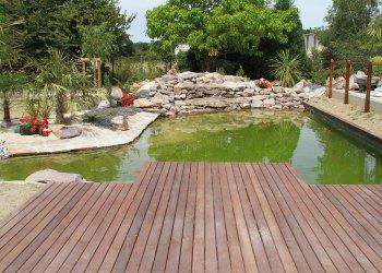 Bassin de jardin dj cr ation for Jardin 50m2 amenager