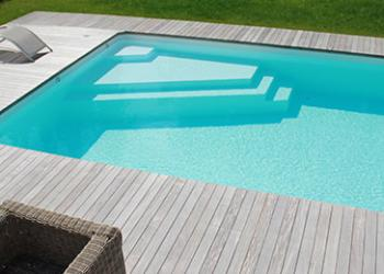 Cr ation d coration et jardin dj cr ation for Entourage piscine design