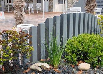 Am nagement bordure terrasse dj cr ation for Idees plantations exterieures