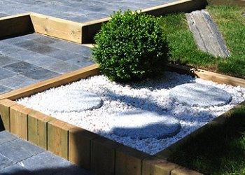 photo jardinière bois