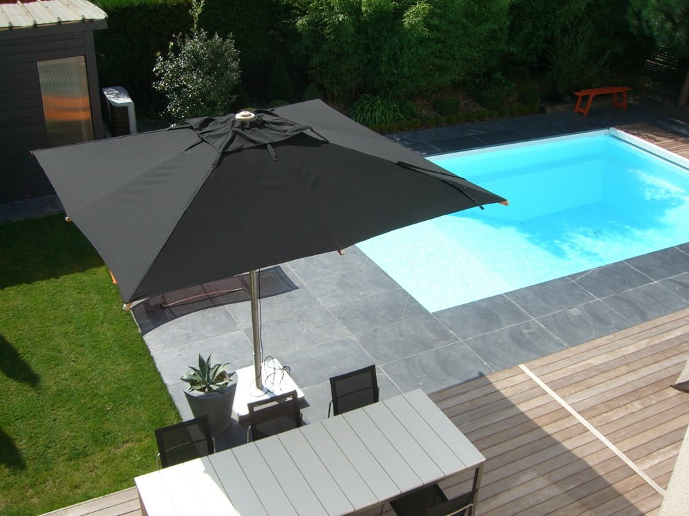 Entourage piscine ext rieur ardoise dj cr ation for Amenagement exterieur piscine