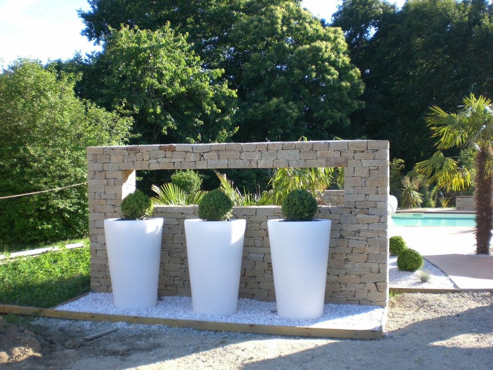 Jardini re de d coration ext rieur dj cr ation for Decoration jardin exterieur en pierre