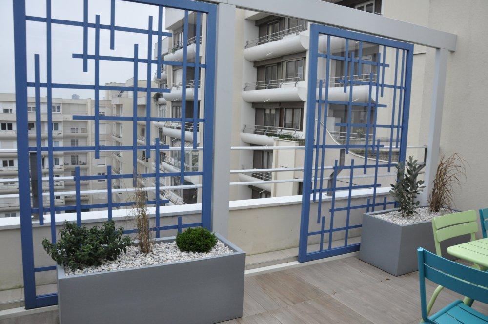 am nagement de balcon dj cr ation. Black Bedroom Furniture Sets. Home Design Ideas