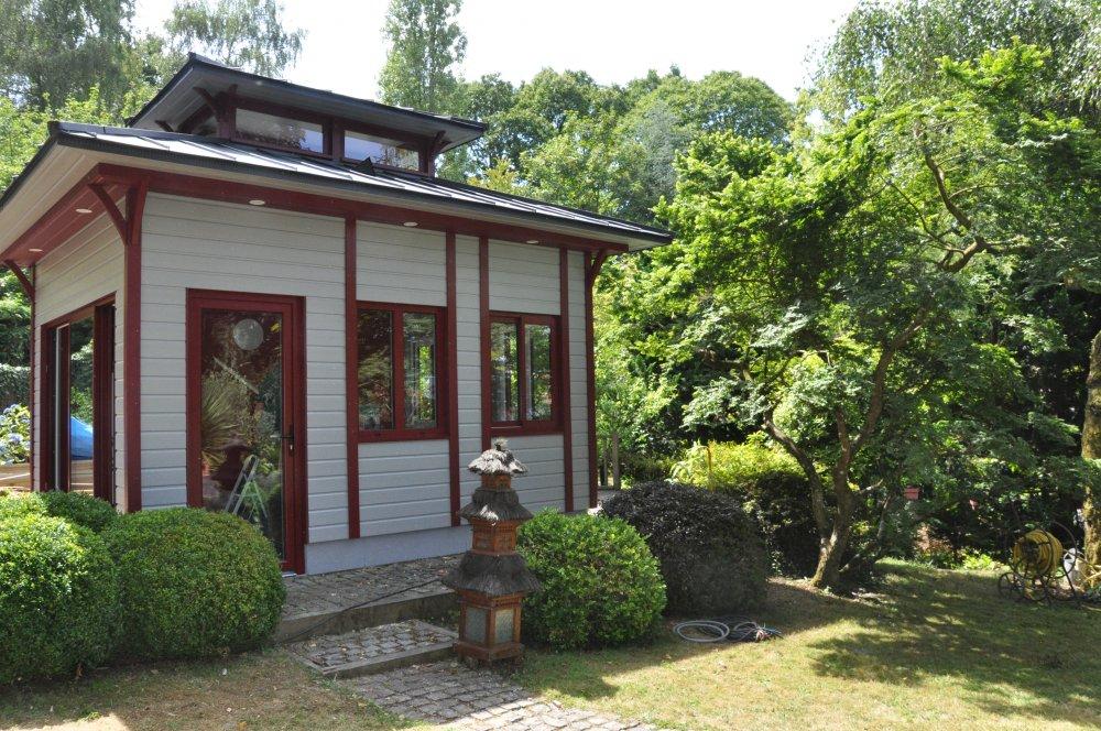 Kiosque japonisant dj cr ation for Kiosque exterieur