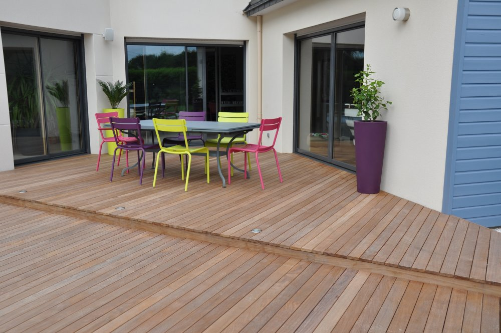 terrasses en bois sur mesure dj cr ation. Black Bedroom Furniture Sets. Home Design Ideas