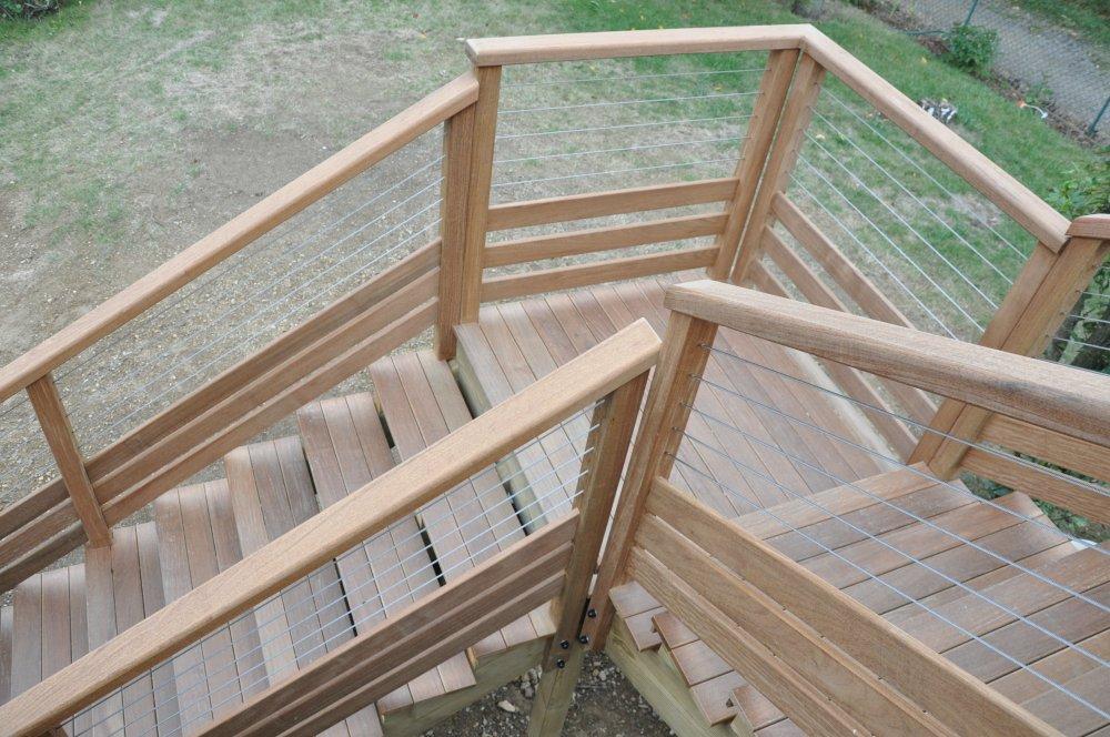... Escalier Exterieur Bois Kit Maison Design For Escalier Exterieur Kit ...
