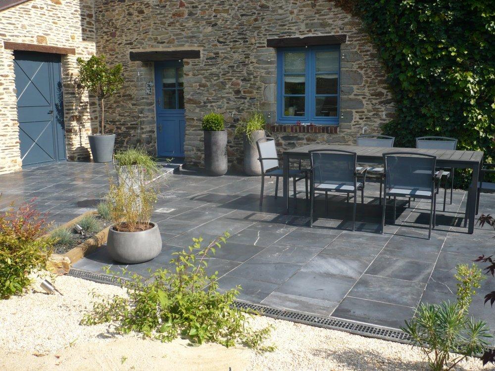 revetement de sol terrasse gallery of amnagement terrasse. Black Bedroom Furniture Sets. Home Design Ideas