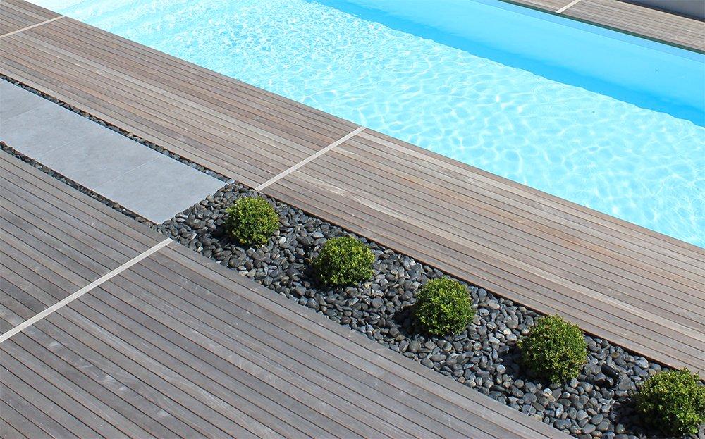 Entourage piscine design dj cr ation for Piscine entourage bois