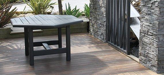 fabrication et pose terrasse bois exotique la terrasse une vrai pièce