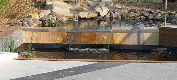 cascade + bassin