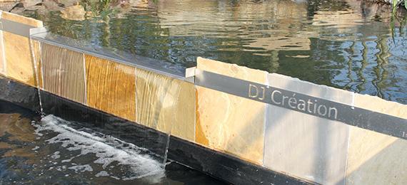 Bassin design dj cr ation for Bassin design