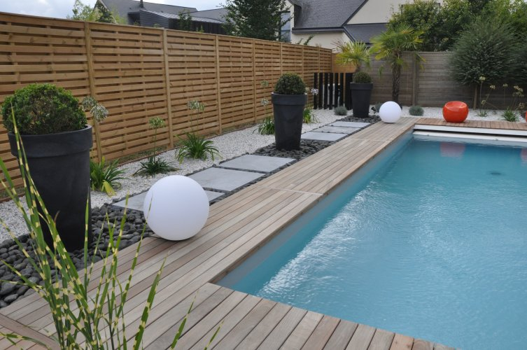 Am nagement piscine dj cr ation - Amenagement autour de la piscine ...