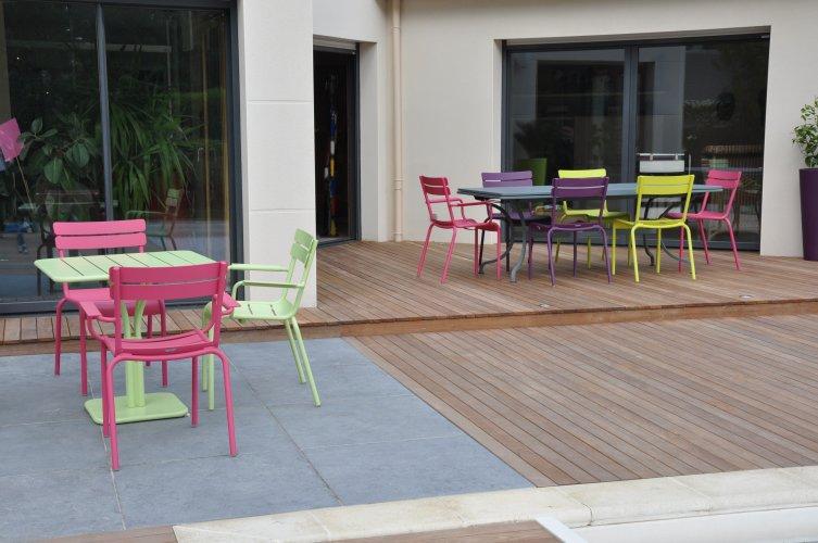 mobilier couleur jardin