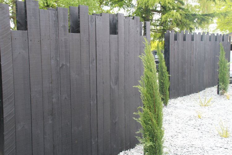 jeux de palissage bois noir