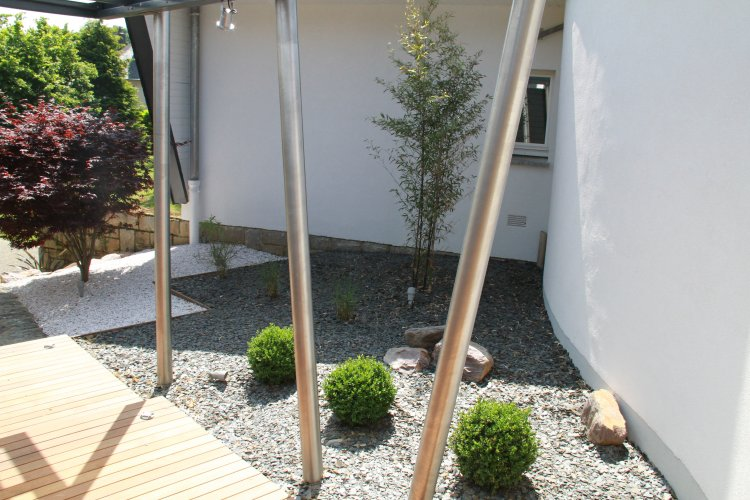 accès jardin zone seche