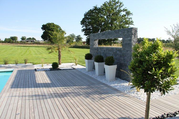 Terrasse et entourage piscine dj cr ation - Piscine entourage bois ...