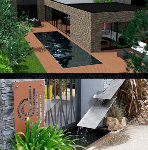 Architecte paysagiste rennes amnagement de piscine rennes - Piscine pre leroy ...